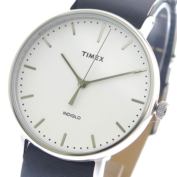 タイメックス TIMEX 腕時計 時計 メンズ TWG016400 クォーツ ホワイト ブラック