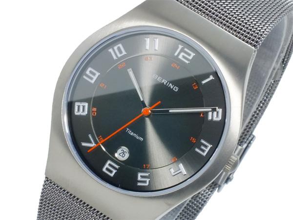 ベーリング BERING クオーツ メンズ 腕時計 時計 11937-007
