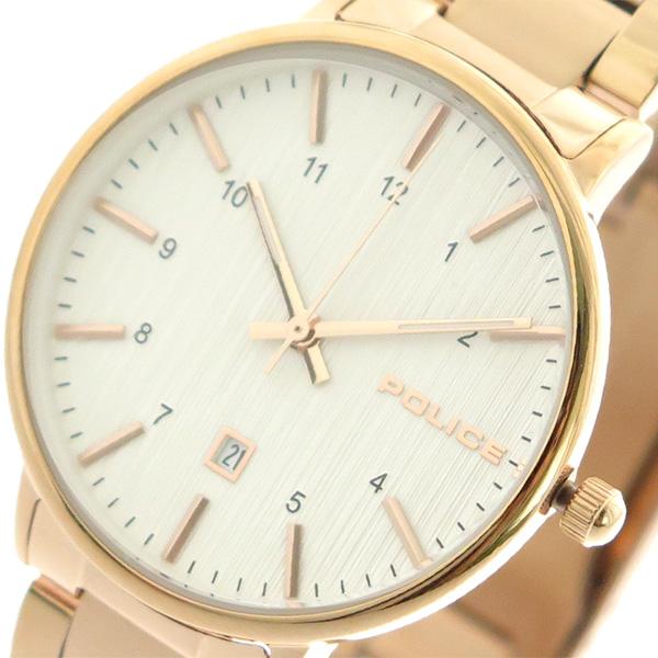 ポリス POLICE 腕時計 時計 レディース 15303BSR-01M クォーツ ホワイト ピンクゴールド