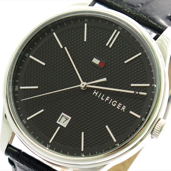 トミーヒルフィガー TOMMY HILFIGER 腕時計 時計 メンズ 1791494 クォーツ ブラック
