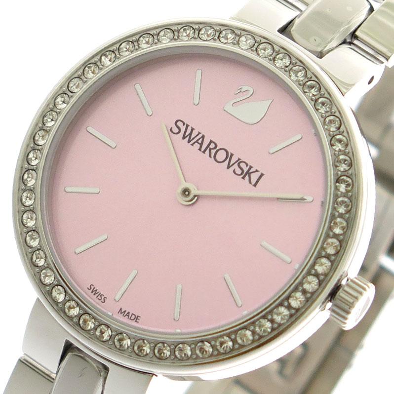 スワロフスキー SWAROVSKI 腕時計 時計 レディース 5130573 クォーツ ピンク シルバー