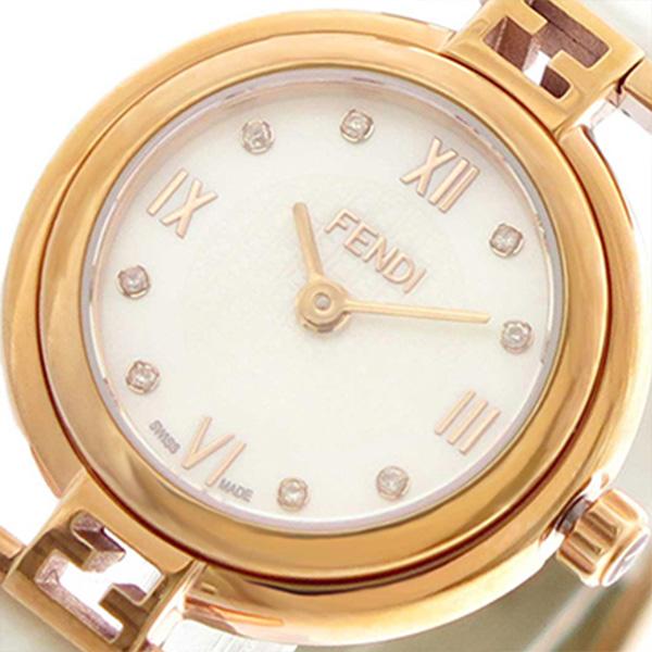 フェンディ FENDI 腕時計 レディース F275244D モーダ MODA クォーツ ホワイトパール ホワイト【送料無料】
