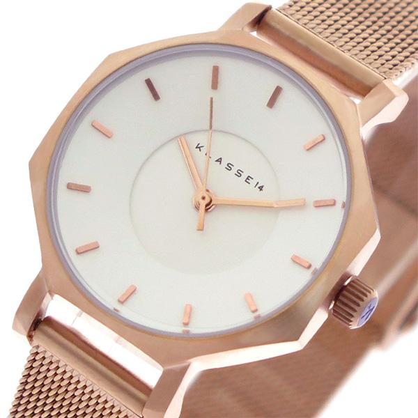 クラス14 KLASSE14 腕時計 時計 レディース OK18RG004S ヴォラーレ Volare クォーツ ホワイト ピンクゴールド