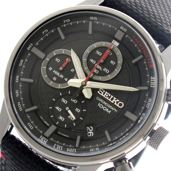 セイコー SEIKO 腕時計 時計 メンズ SSB315P1 クォーツ ブラック