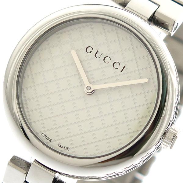 グッチ GUCCI 腕時計 レディース YA141402 クォーツ ホワイト シルバー【送料無料】