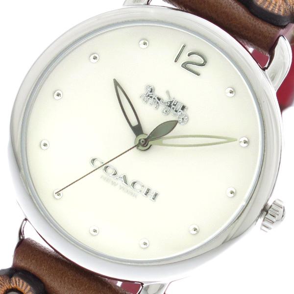 コーチ COACH 腕時計 時計 レディース 14502744 クォーツ ホワイト ブラウン
