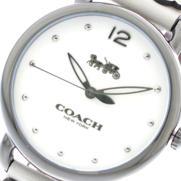 コーチ COACH 腕時計 時計 レディース 14502746 クォーツ ホワイト【ポイント10倍】
