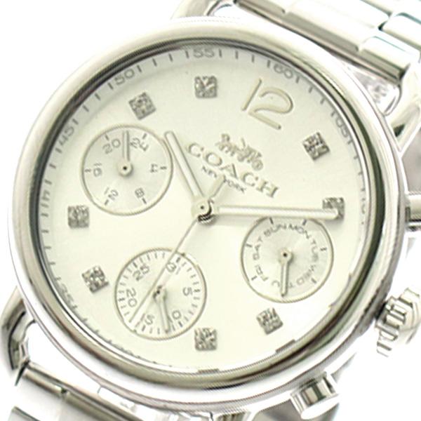 コーチ COACH 腕時計 時計 レディース 14502942 クォーツ シルバー