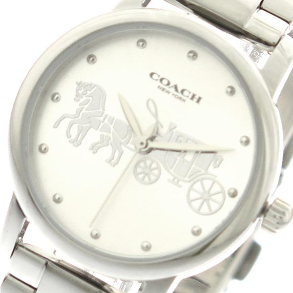 コーチ COACH 腕時計 時計 レディース 14502975 クォーツ シルバー