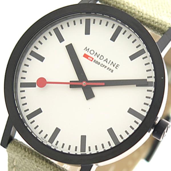 モンディーン MONDAINE 腕時計 時計 メンズ A660.30360.61SBG クォーツ ホワイト グレージュ