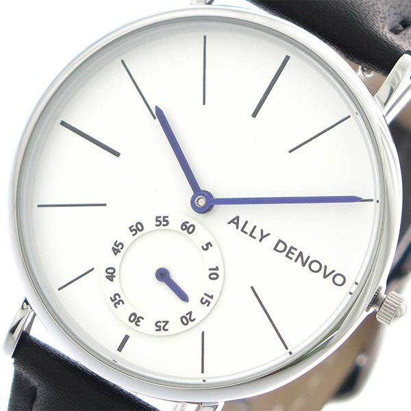 アリーデノヴォ ALLY DENOVO 腕時計 時計 レディース 36mm AF5001-1 HERITAGE SMALL クォーツ ホワイト ブラック