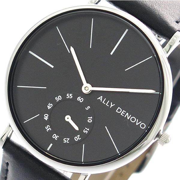 アリーデノヴォ ALLY DENOVO 腕時計 時計 レディース 36mm AF5001-3 HERITAGE SMALL クォーツ ブラック