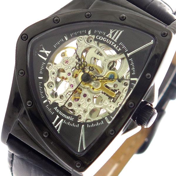 コグ COGU 腕時計 時計 メンズ BNTS-BBK 自動巻き ブラック