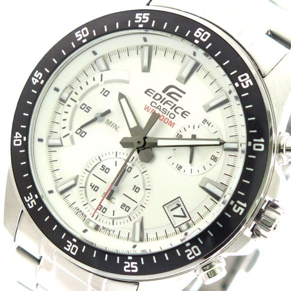 カシオ CASIO 腕時計 時計 メンズ EFV-540D-7AV エディフィス EDIFICE クォーツ メタルホワイト シルバー