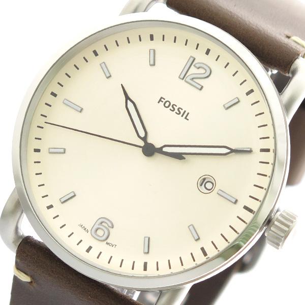 フォッシル FOSSIL 腕時計 時計 メンズ レディース FS5275 クォーツ アイボリー ブラウン