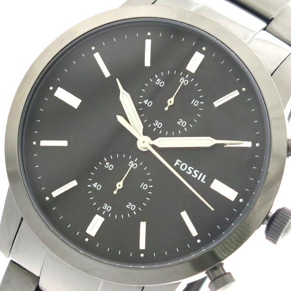 フォッシル FOSSIL 腕時計 時計 メンズ FS5349 クォーツ ブラック ガンメタ