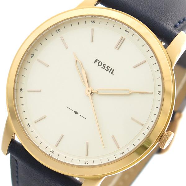 フォッシル FOSSIL 腕時計 時計 メンズ レディース FS5371 クォーツ ホワイト ネイビー