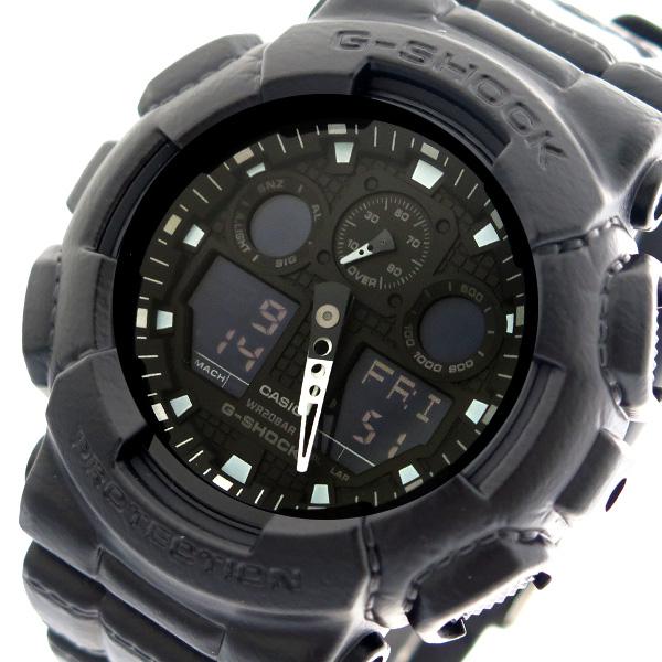 カシオ CASIO 腕時計 時計 メンズ GA-100BT-1A Gショック G-SHOCK クォーツ ブラック