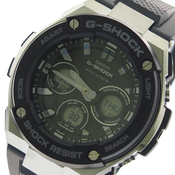 カシオ CASIO 腕時計 時計 GST-W300-1A Gショック G-SHOCK クォーツ ブラック