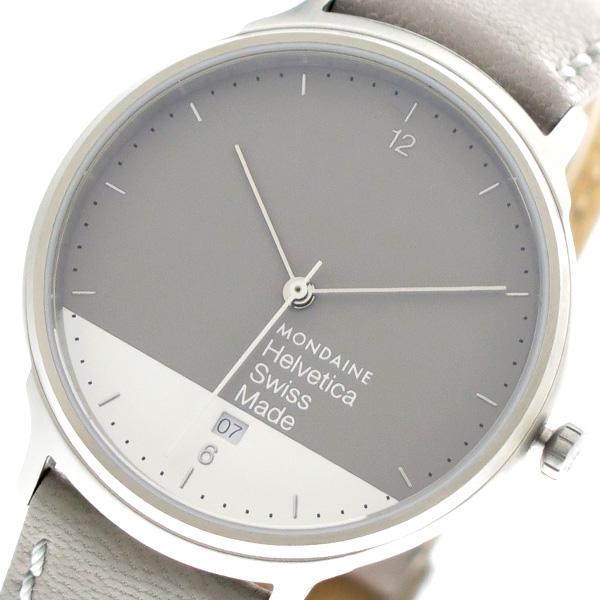 モンディーン MONDAINE 腕時計 時計 メンズ MH1.L2280.LH クォーツ グレー ホワイト グレー