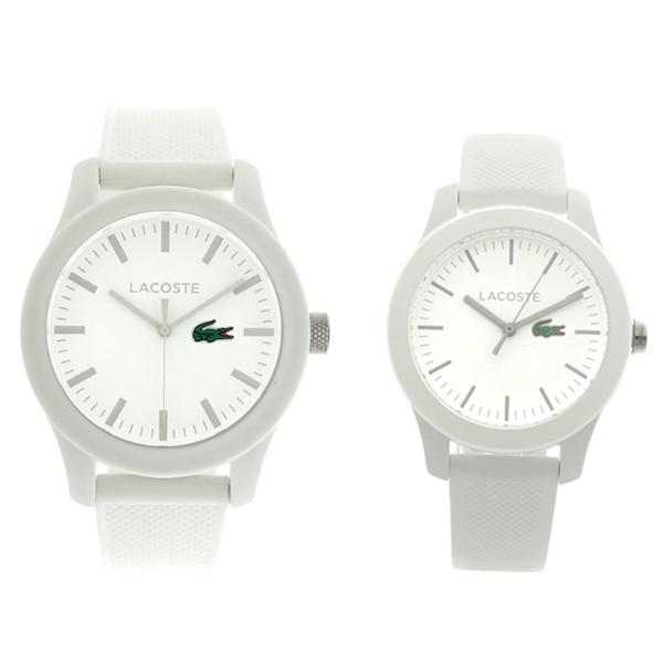 ペアウォッチ ラコステ LACOSTE 腕時計 時計 メンズ レディース 2010762 2000954 クォーツ ホワイト
