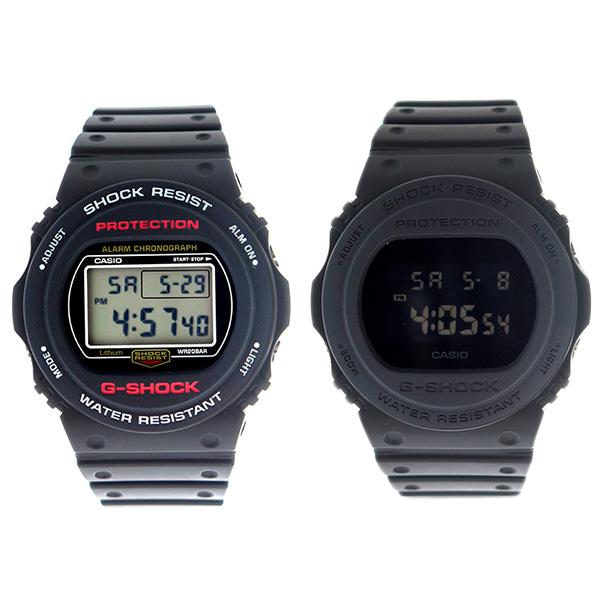 ペアウォッチ カシオ CASIO Gショック G-SHOCK 腕時計 時計 メンズ DW-5750E-1 DW-5750E-1B クォーツ