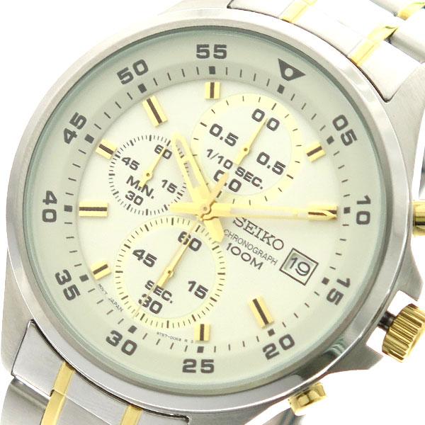 セイコー SEIKO 腕時計 時計 メンズ SKS629P1 クォーツ ホワイト シルバー