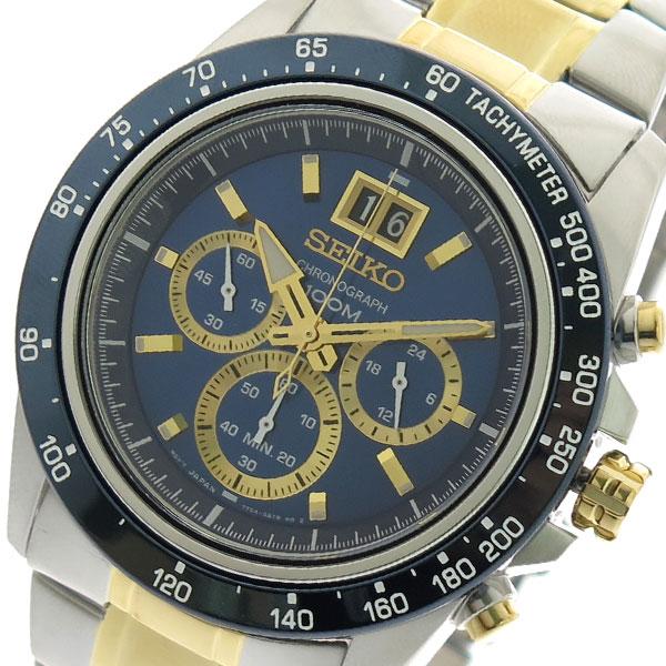 セイコー SEIKO 腕時計 時計 メンズ SPC239P1 クォーツ ブルー シルバー