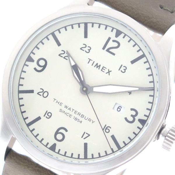 タイメックス TIMEX 腕時計 時計 メンズ TW2R71100 クォーツ ホワイト カーキ