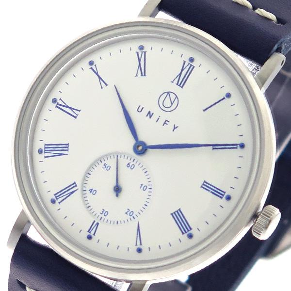 ユニファイ UNIFY 腕時計 時計 メンズ レディース UF-001WH-NVNV クォーツ ホワイト ネイビー