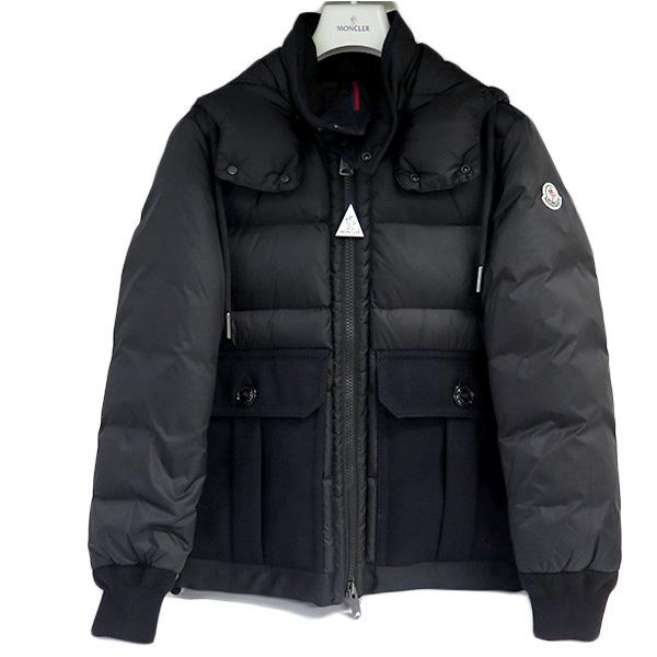 モンクレール MONCLER ダウンジャケット メンズ 41924.85 53227 サイズ5 VITOUX ブラック【送料無料】【S1】