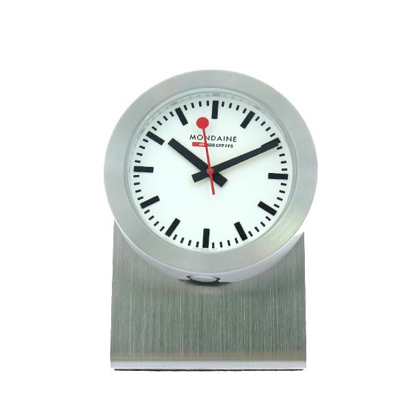 モンディーン MONDAINE 置き時計 A660.30318.81SBB シルバー