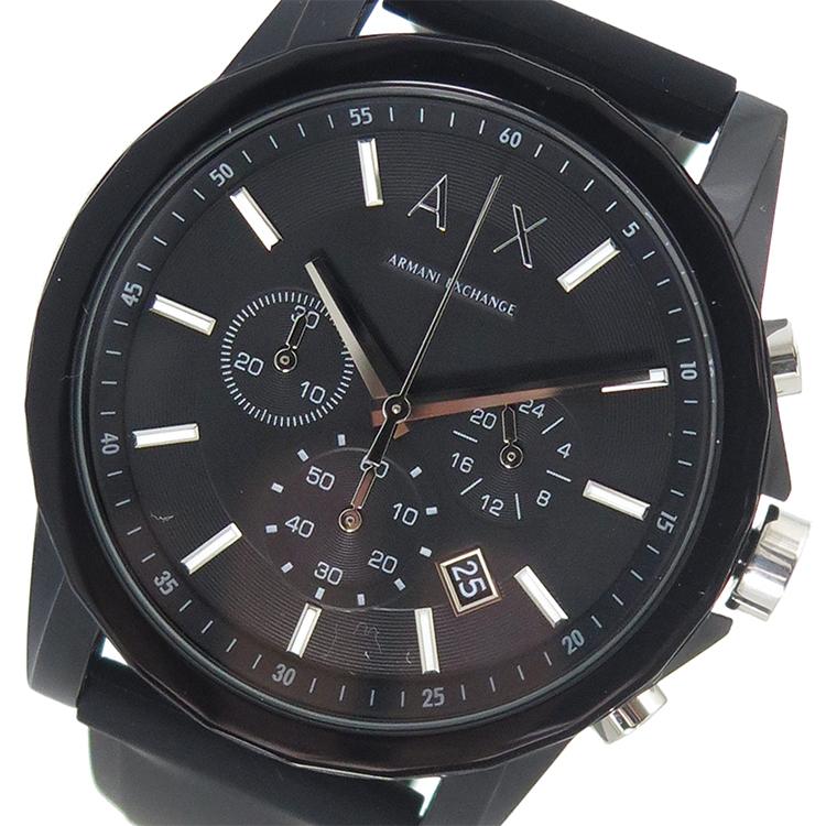 アルマーニエクスチェンジ ARMANI EXCHANGE クオーツ メンズ 腕時計 時計 AX1326 ブラック