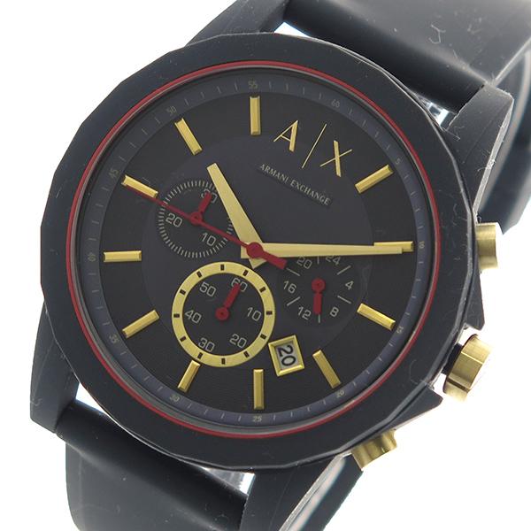 アルマーニエクスチェンジ ARMANI EXCHANGE 腕時計 時計 メンズ AX1335 クォーツ ブラック