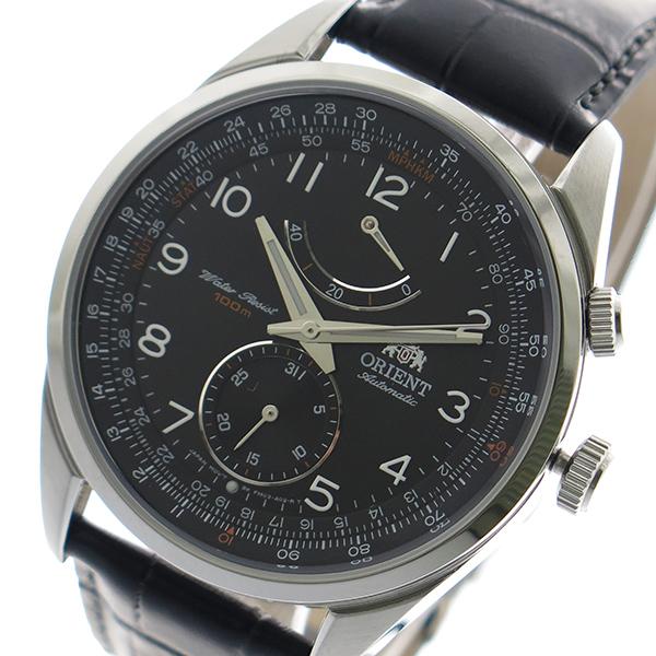 オリエント ORIENT 腕時計 時計 メンズ FFM03004B0 自動巻き ブラック