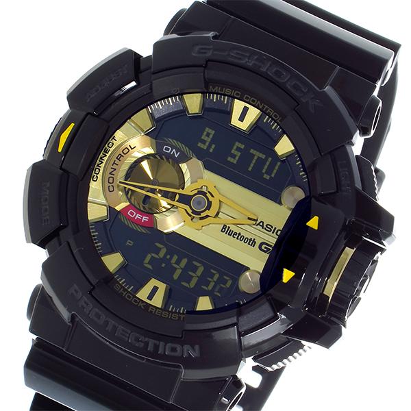 カシオ CASIO Gショック G-SHOCK デジアナ メンズ 腕時計 時計 GBA-400-1A9 ブラック/ゴールド