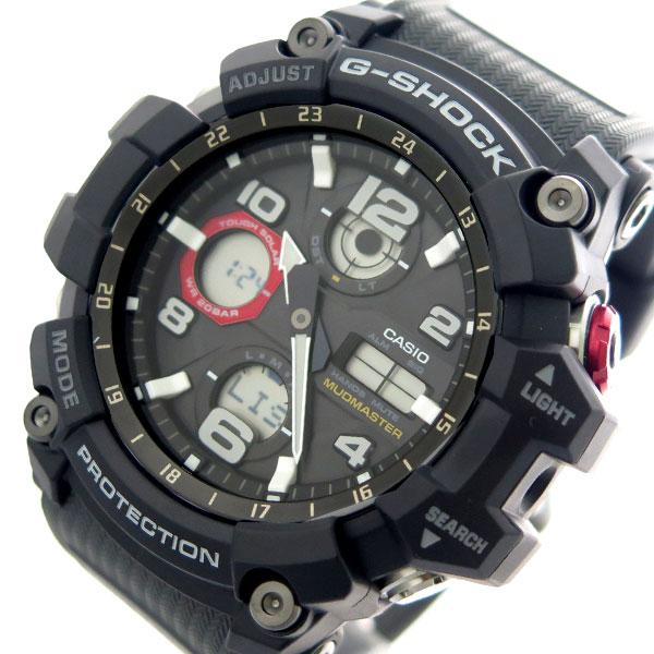 カシオ CASIO 腕時計 時計 メンズ GSG-100-1A8 Gショック G-SHOCK クォーツ ブラック チャコール