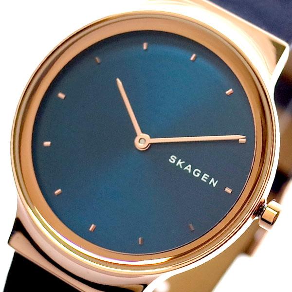 スカーゲン SKAGEN 腕時計 時計 レディース SKW2706 フレヤ FREJA クォーツ ネイビー