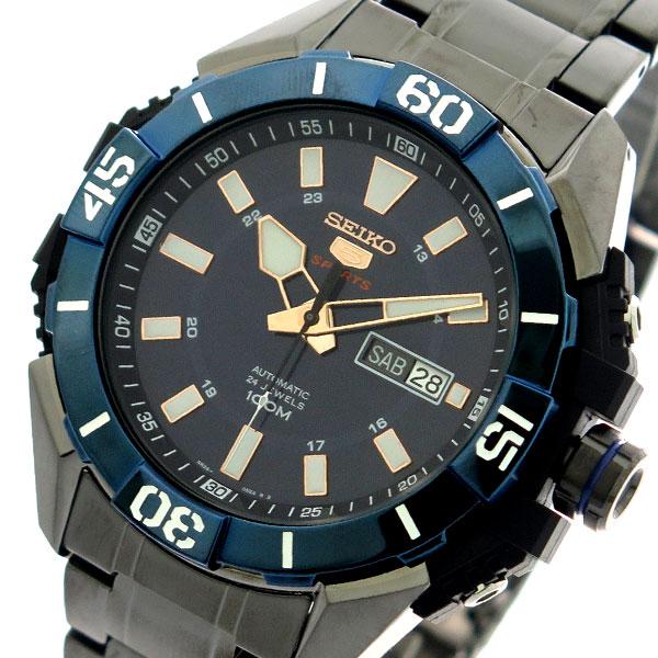 セイコー SEIKO 腕時計 時計 メンズ SRP797K1 セイコー5 SEIKO5 スポーツ SPORTS 自動巻き ネイビー メタルブラック