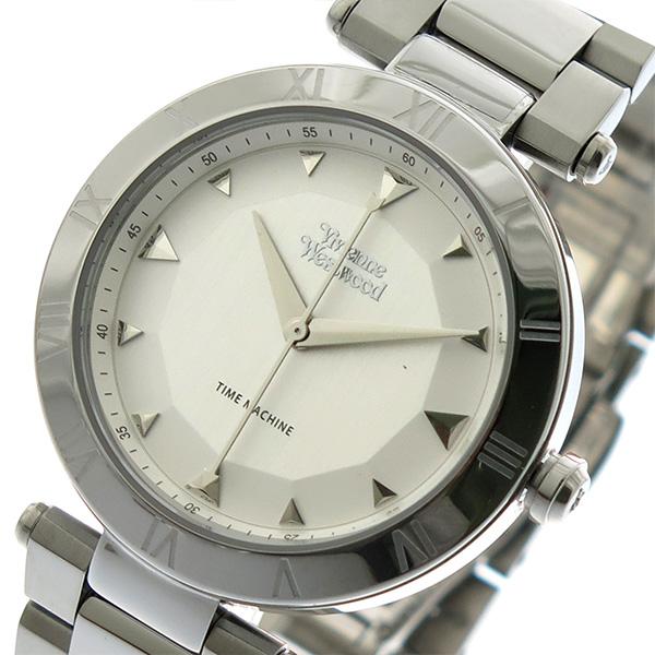 ヴィヴィアンウエストウッド VIVIENNE WESTWOOD 腕時計 時計 メンズ レディース VV206SLSL クォーツ シルバー【ポイント10倍】