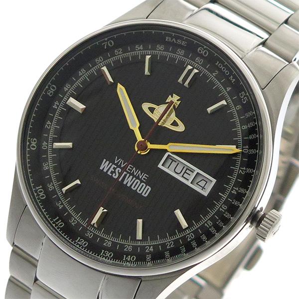 ヴィヴィアンウエストウッド VIVIENNE WESTWOOD 腕時計 時計 メンズ VV207BKSL クォーツ ブラック シルバー