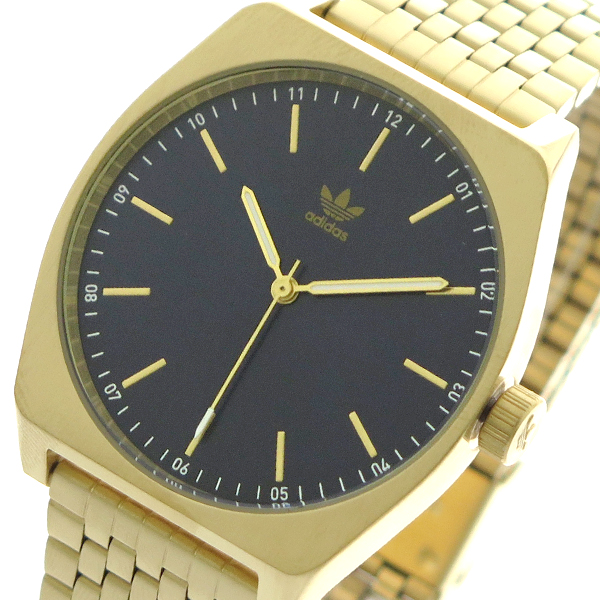 アディダス ADIDAS 腕時計 時計 メンズ レディース Z02-2913 プロセス-M1 PROCESS-M1 CJ6343 クォーツ ネイビー ゴールド