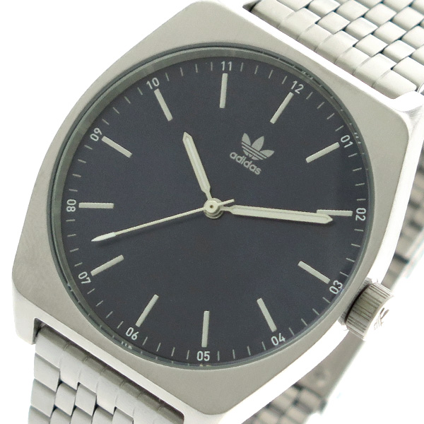 アディダス ADIDAS 腕時計 時計 メンズ レディース Z02-2928 プロセス-M1 PROCESS-M1 CJ6341 クォーツ ネイビー シルバー