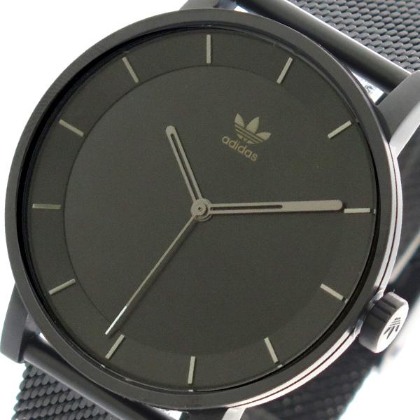 アディダス ADIDAS 腕時計 時計 メンズ レディース Z04-2341 ディストリクト-M1 DISTRICT-M1 CJ6320 クォーツ ブラック