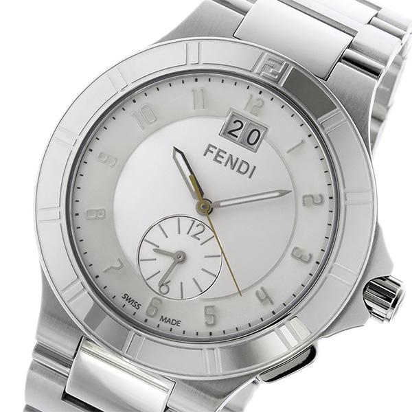 フェンディ FENDI ハイスピード HIGH SPEED クオーツ メンズ 腕時計 F478160 ホワイト ホワイト【送料無料】