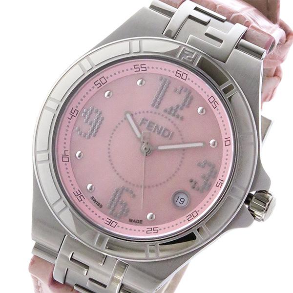 フェンディ FENDI ハイスピード HIGH SPEED クオーツ レディース 腕時計 F414377 ピンク ピンク【送料無料】