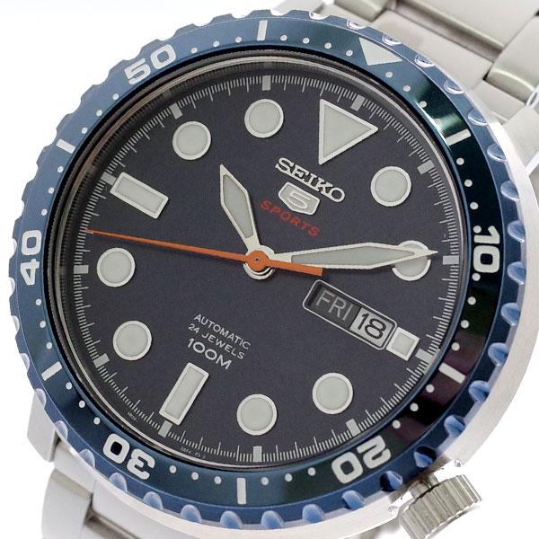セイコー SEIKO 腕時計 時計 メンズ SRPC63K1 セイコー5 SEIKO5 スポーツ SPORTS 自動巻き ネイビー シルバー