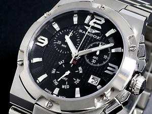 サンドス SANDOZ 腕時計 クロノグラフ メンズ SD-81303-05【送料無料】【ポイント10倍】