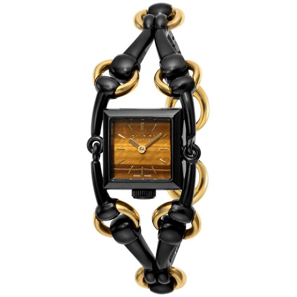 グッチ GUCCI シニョリーア クオーツ レディース 腕時計 YA116518 ブラウン【送料無料】【ポイント10倍】