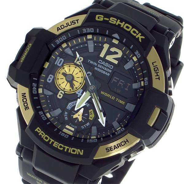 カシオ CASIO Gショック G-SHOCK クオーツ メンズ 腕時計 GA-1100-9G ブラック ブラック【送料無料】